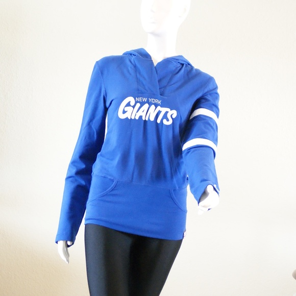 premium selection 3a8f3 aff5a Nike New York Giants women's hoodie